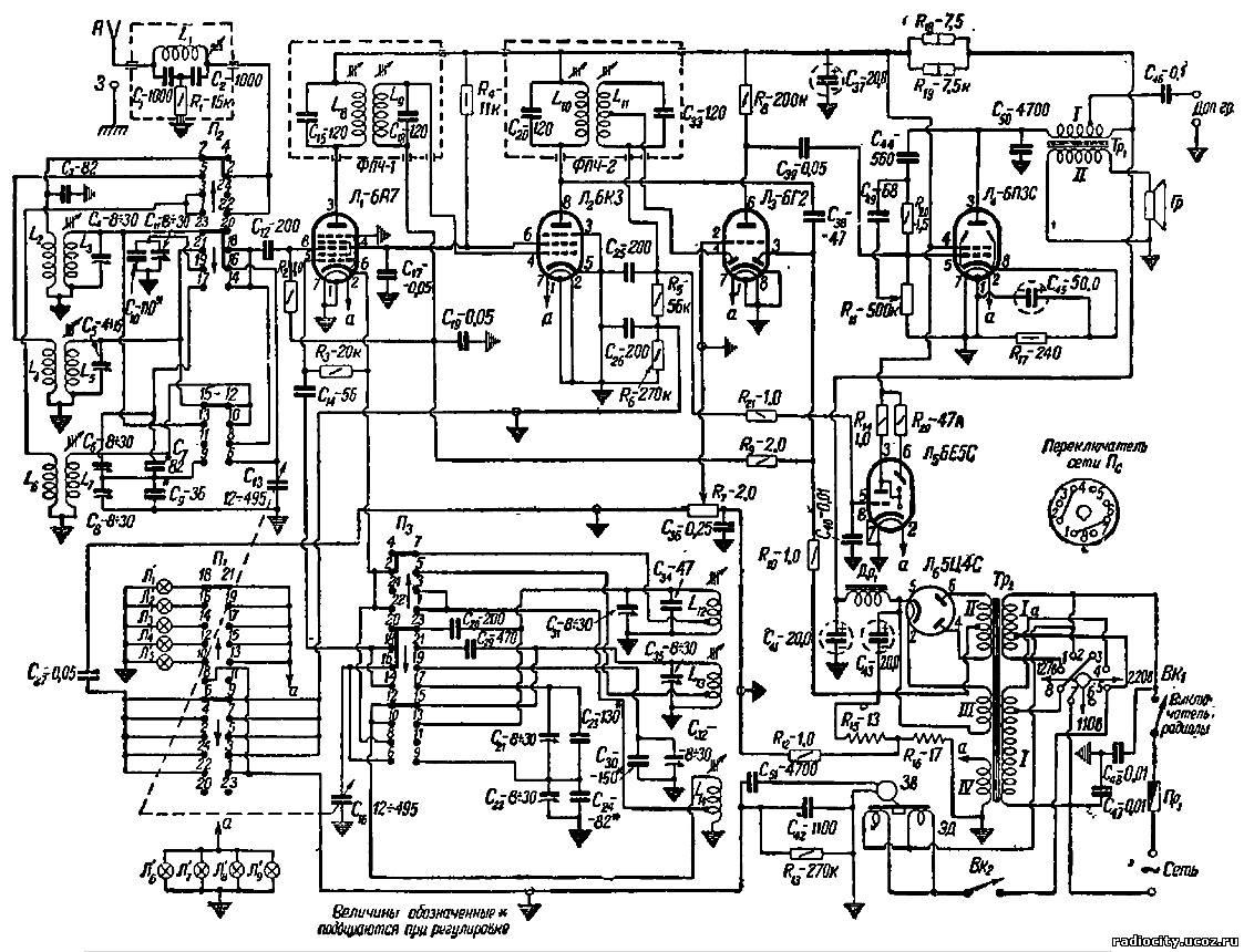 Простые схему радиоприемника